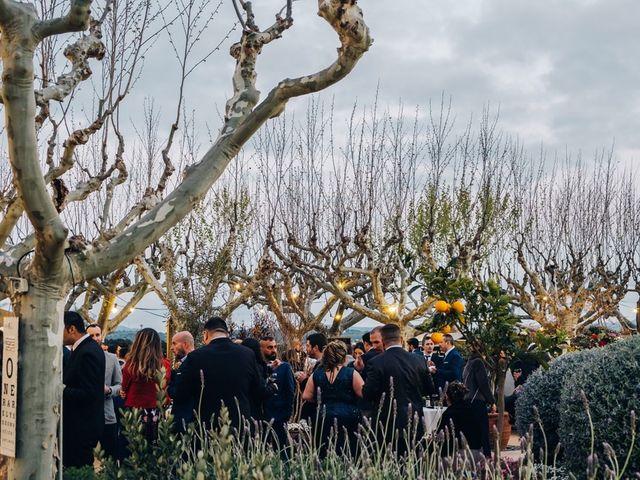 La boda de Andres y Carolina en L' Ametlla Del Valles, Barcelona 27
