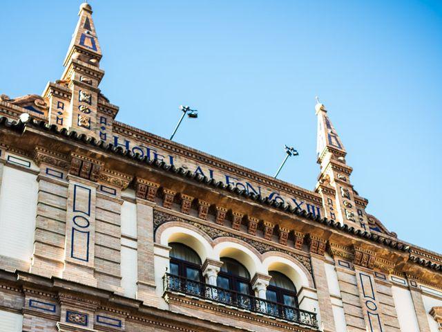 La boda de Alberto y Noelia en Sanlucar La Mayor, Sevilla 13