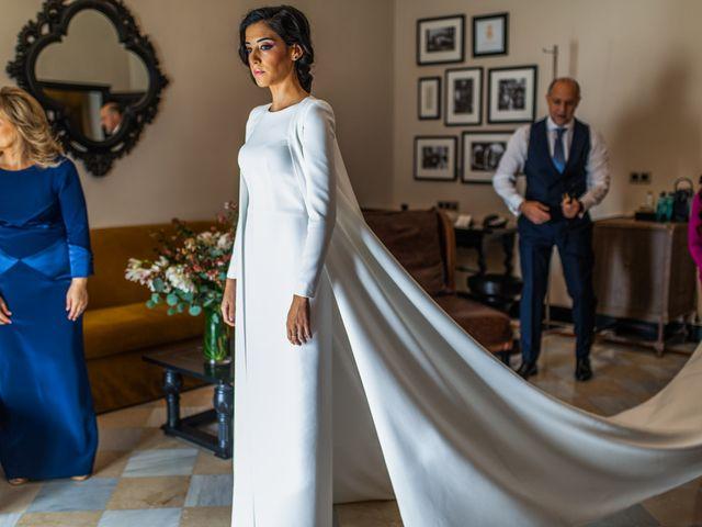 La boda de Alberto y Noelia en Sanlucar La Mayor, Sevilla 30