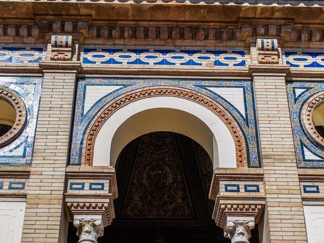 La boda de Alberto y Noelia en Sanlucar La Mayor, Sevilla 44