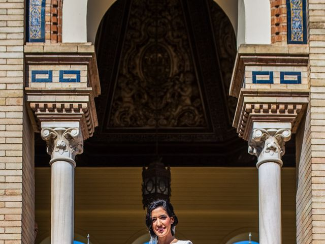 La boda de Alberto y Noelia en Sanlucar La Mayor, Sevilla 46