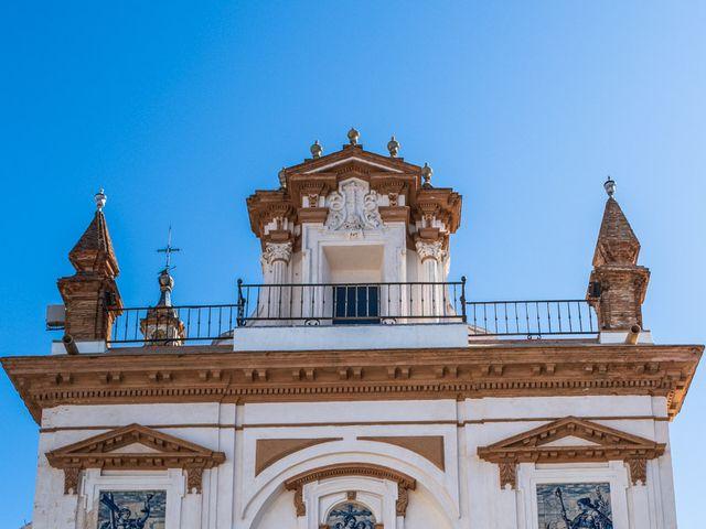 La boda de Alberto y Noelia en Sanlucar La Mayor, Sevilla 47