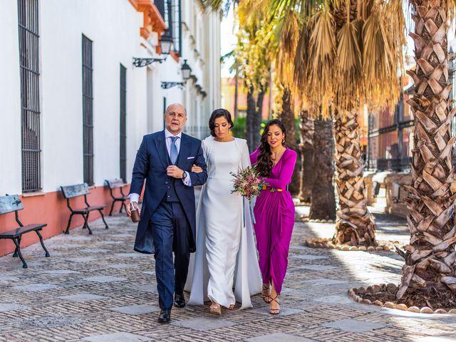 La boda de Alberto y Noelia en Sanlucar La Mayor, Sevilla 53