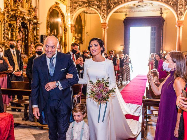La boda de Alberto y Noelia en Sanlucar La Mayor, Sevilla 59