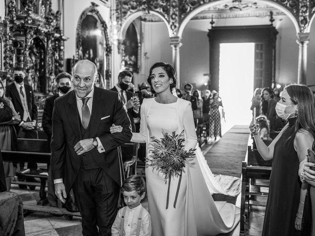 La boda de Alberto y Noelia en Sanlucar La Mayor, Sevilla 60