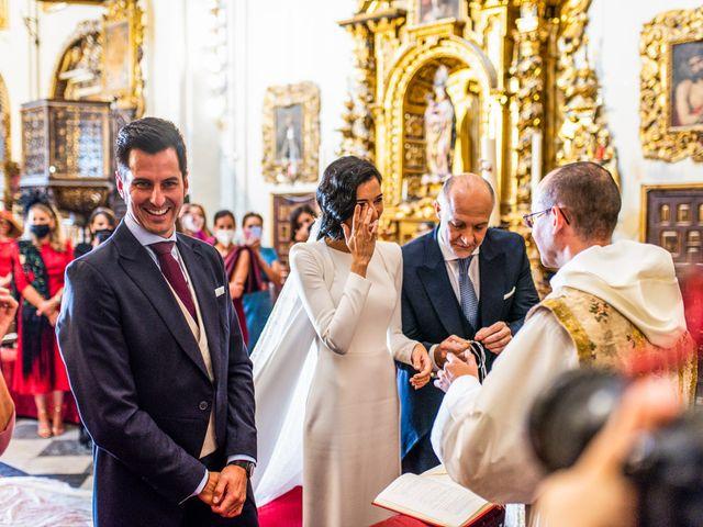 La boda de Alberto y Noelia en Sanlucar La Mayor, Sevilla 71