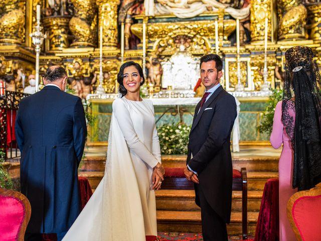 La boda de Alberto y Noelia en Sanlucar La Mayor, Sevilla 80