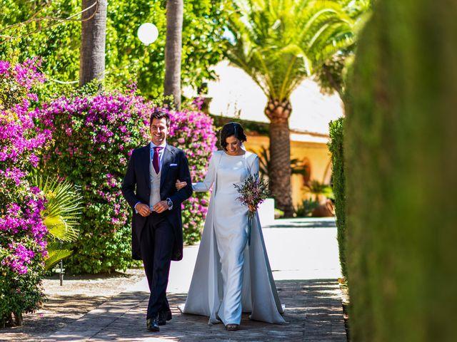 La boda de Alberto y Noelia en Sanlucar La Mayor, Sevilla 92