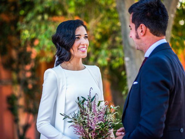 La boda de Alberto y Noelia en Sanlucar La Mayor, Sevilla 94