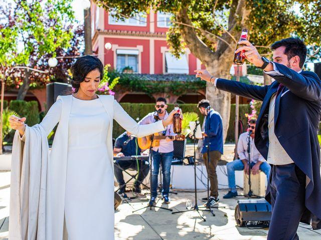 La boda de Alberto y Noelia en Sanlucar La Mayor, Sevilla 112