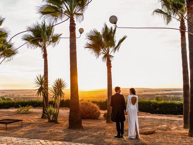 La boda de Alberto y Noelia en Sanlucar La Mayor, Sevilla 135