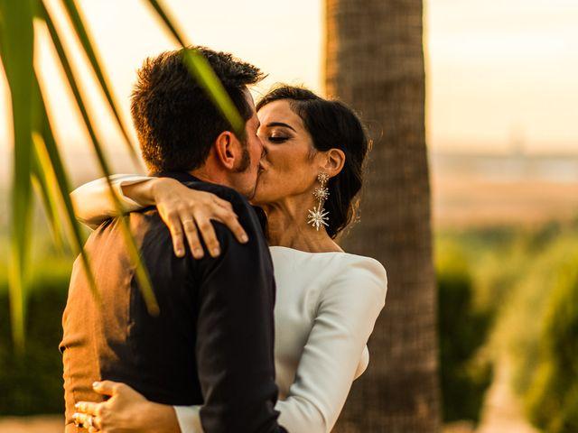 La boda de Alberto y Noelia en Sanlucar La Mayor, Sevilla 140