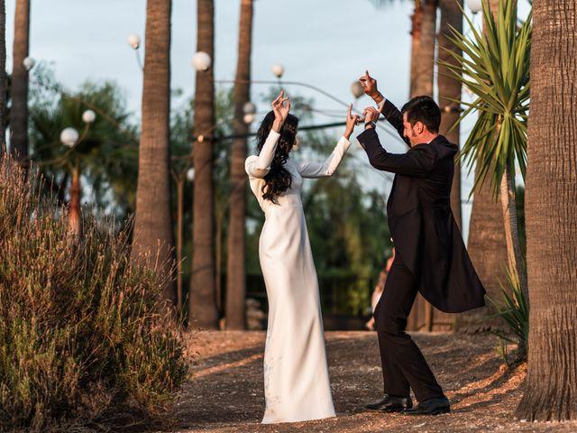 La boda de Alberto y Noelia en Sanlucar La Mayor, Sevilla 143