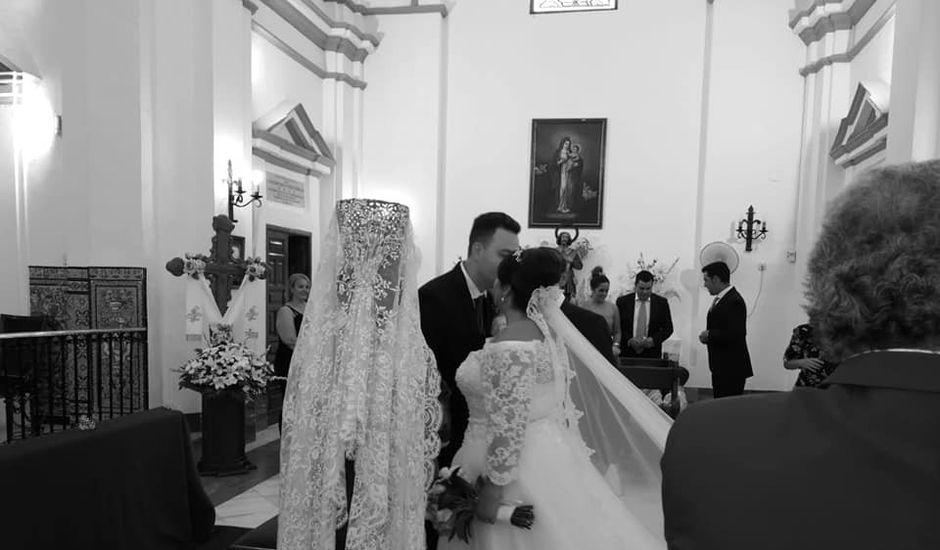 La boda de Alberto y Cristina en Manzanilla, Huelva