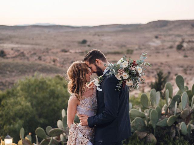 La boda de Juan Carlos y Esther en Aguamarga, Almería 113