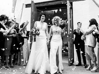 La boda de Carolina y Lucía