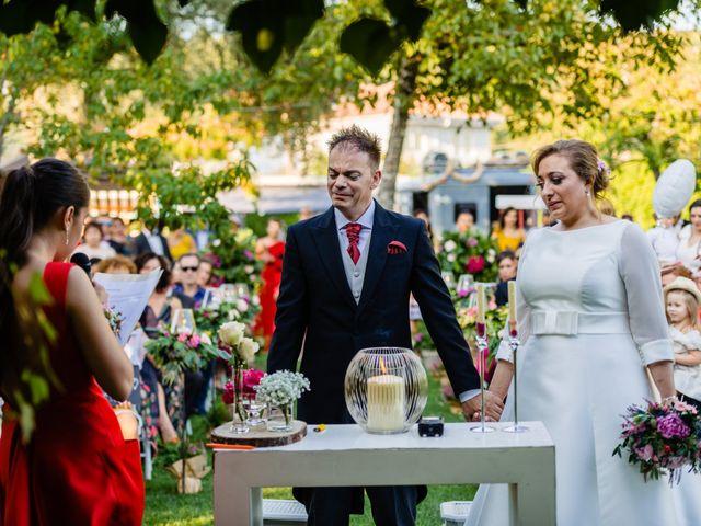La boda de Roberto y Sonia en Boboras, Orense 1