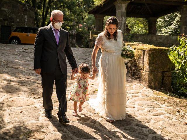 La boda de David y Luisa en Santiago De Compostela, A Coruña 6
