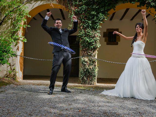 La boda de Iñigo y Ana en Oñati, Guipúzcoa 1