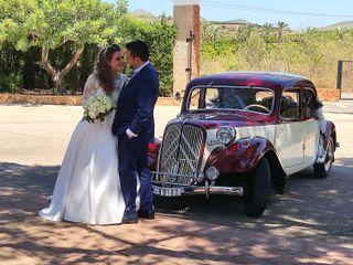 La boda de Ainoa y David