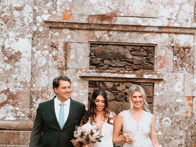 La boda de Marcos y Alejandra en Forcarei, Pontevedra 1