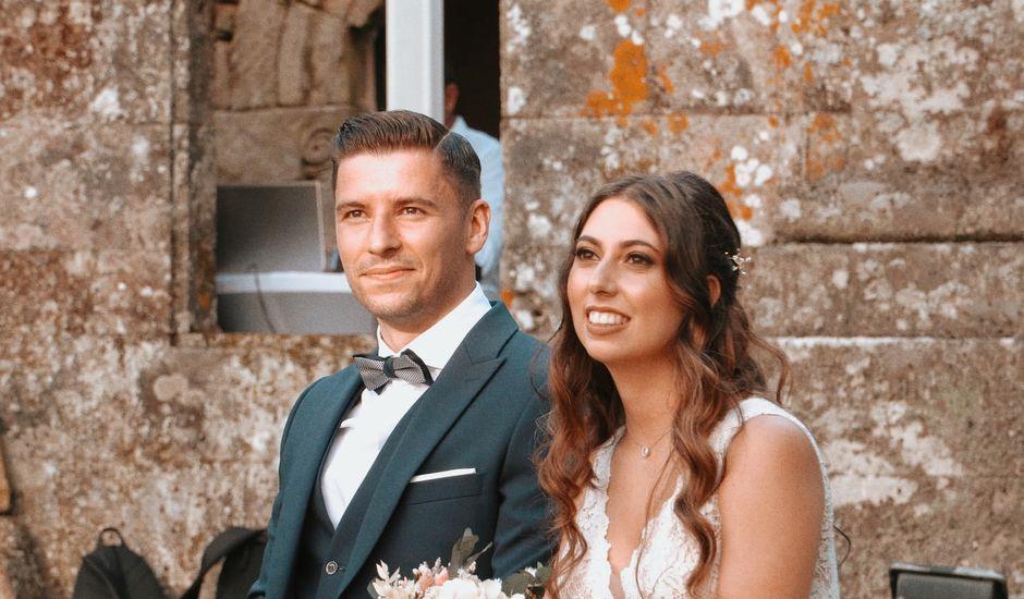 La boda de Marcos y Alejandra en Forcarei, Pontevedra