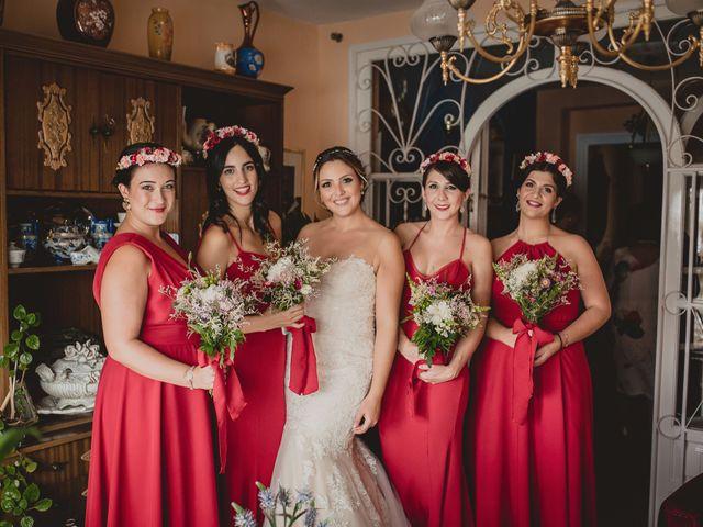 La boda de Alberto y Mirian en Casarabonela, Málaga 33