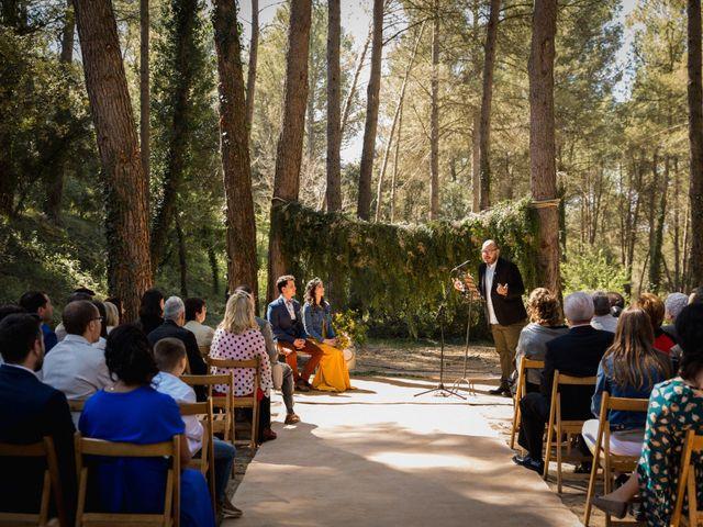 La boda de Joan y Ari en Castelladral, Barcelona 72
