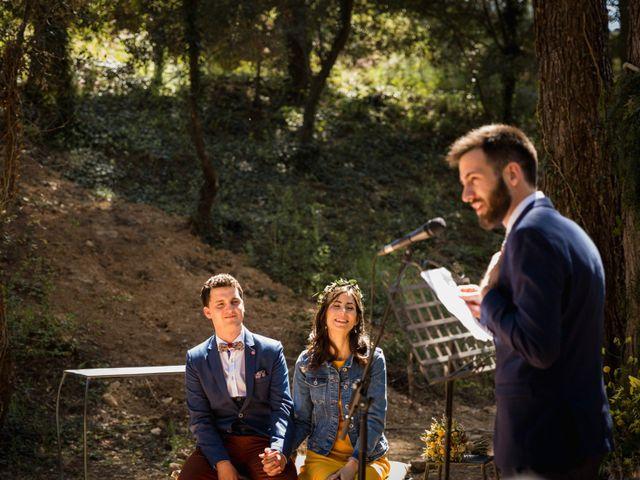 La boda de Joan y Ari en Castelladral, Barcelona 95
