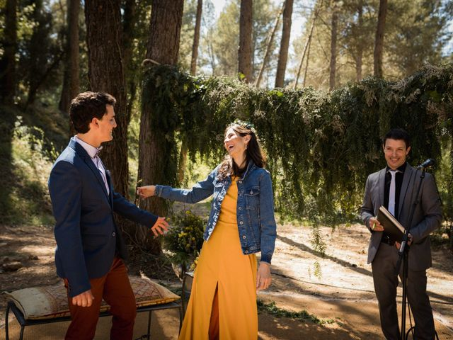 La boda de Joan y Ari en Castelladral, Barcelona 107