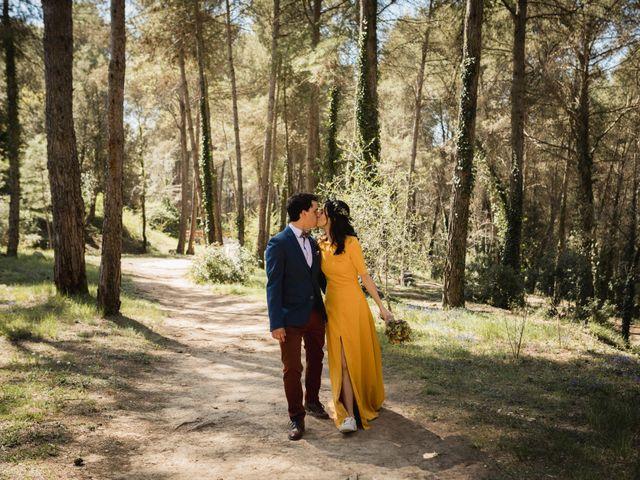 La boda de Joan y Ari en Castelladral, Barcelona 123