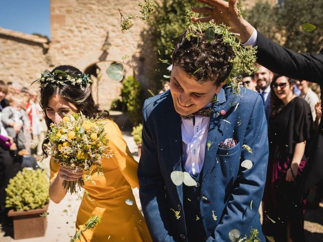 La boda de Joan y Ari en Castelladral, Barcelona 2