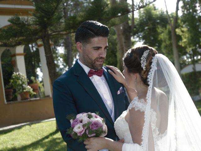 La boda de Ismael y Rocio en Dos Hermanas, Sevilla 16