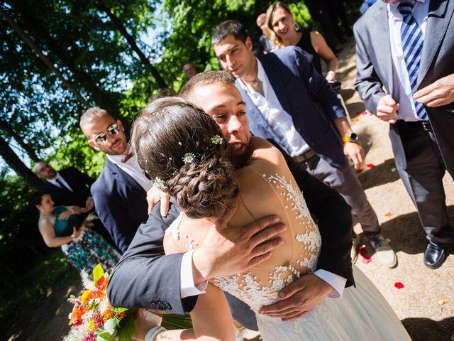 La boda de Albert y Laura en Sant Andreu De La Vola, Barcelona 46