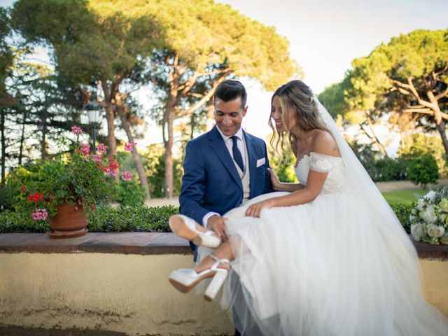 La boda de Cristian y Patricia en Premia De Dalt, Barcelona 14