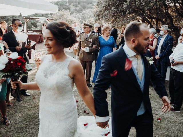 La boda de Javi y Eva en San Agustin De Guadalix, Madrid 42