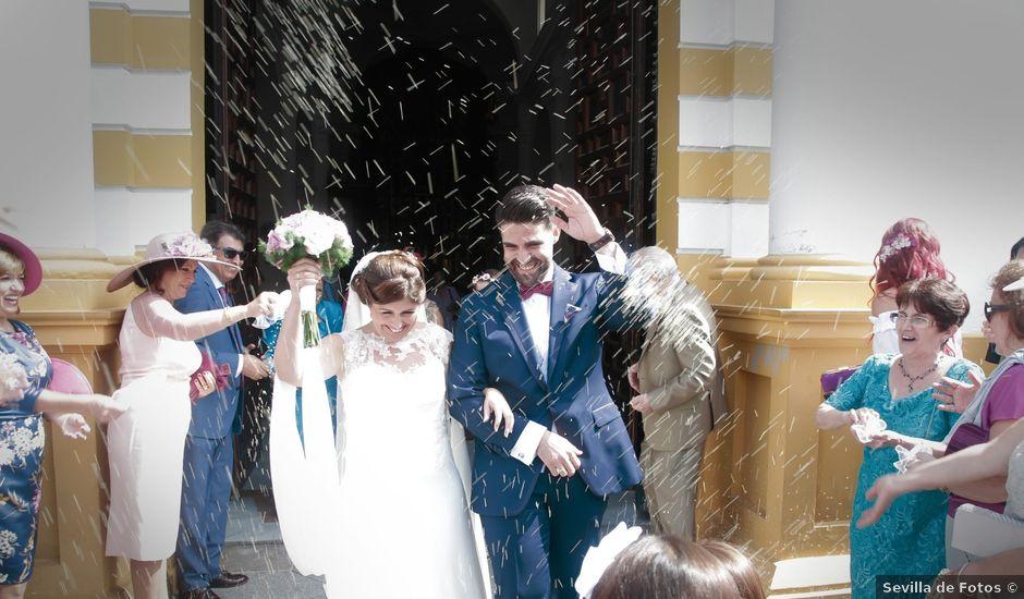 La boda de Ismael y Rocio en Dos Hermanas, Sevilla