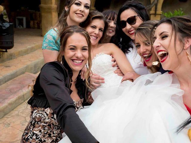La boda de Joshua y Alexandra en El Casar, Guadalajara 53