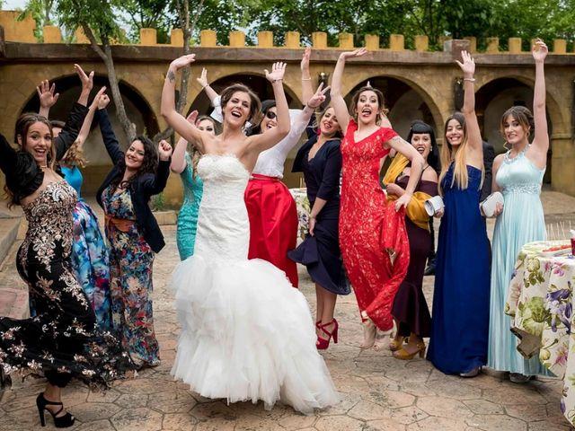 La boda de Joshua y Alexandra en El Casar, Guadalajara 56