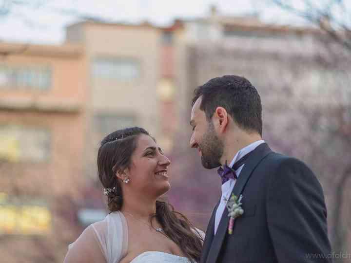 La boda de Izaskun y Iván