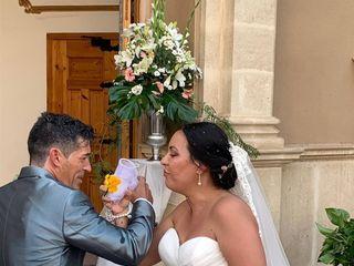 La boda de Adela y Monchi