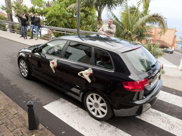 La boda de Fernando y Gema en El Sauzal, Santa Cruz de Tenerife 1