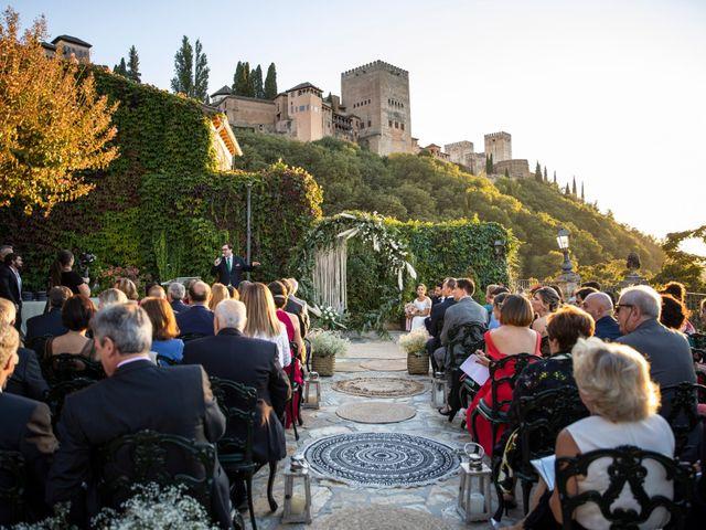 La boda de Miguel y Aurora en Granada, Granada 54