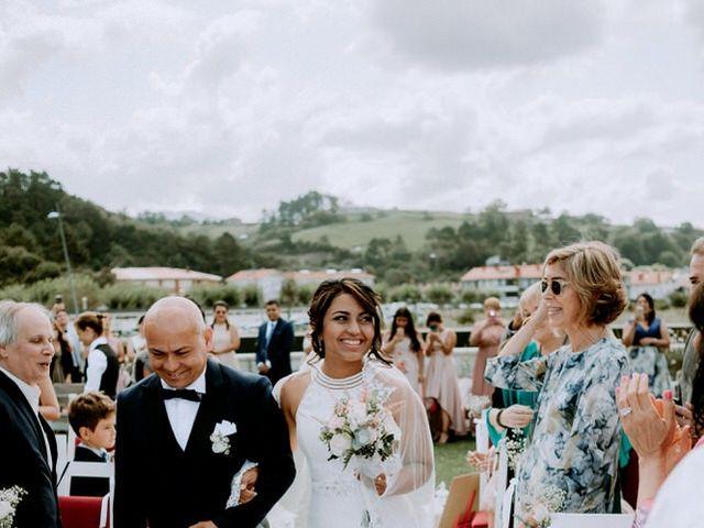 La boda de Astrid y Nelson en Orio, Guipúzcoa 46