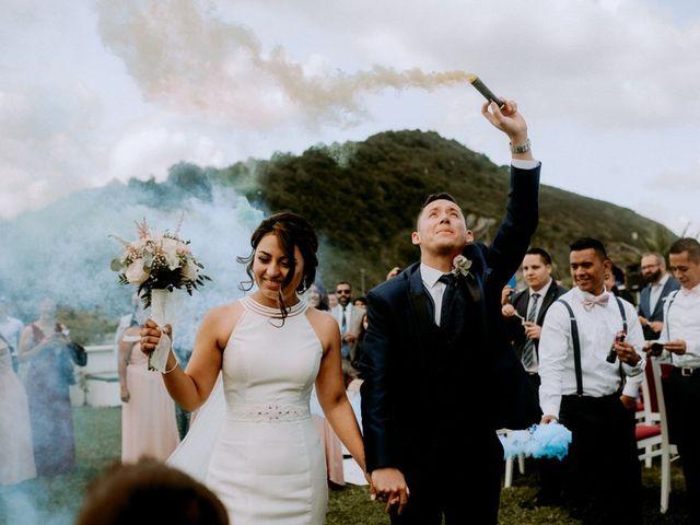 La boda de Nelson y Astrid