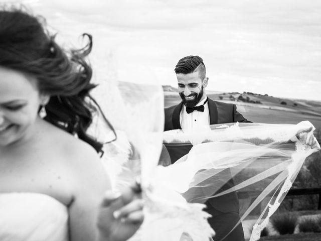La boda de Javi y Leti en Algete, Madrid 1
