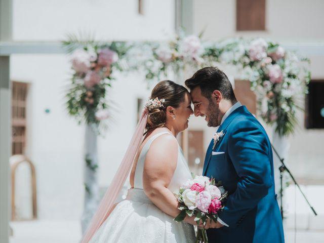 La boda de Paula y Saul