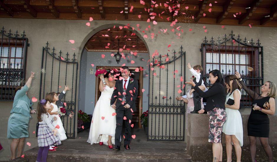 La boda de Fernando y Gema en El Sauzal, Santa Cruz de Tenerife