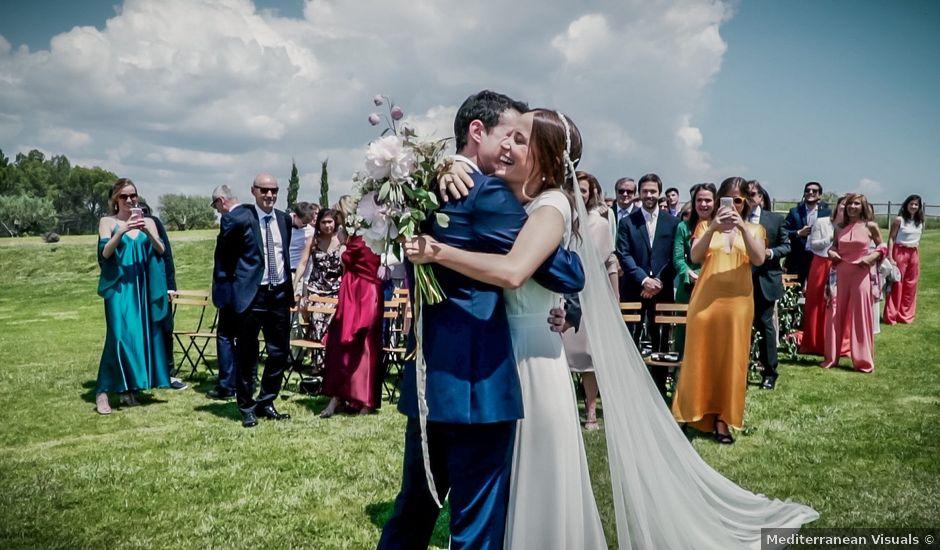 La boda de Joan y Silvia en Pontos, Girona