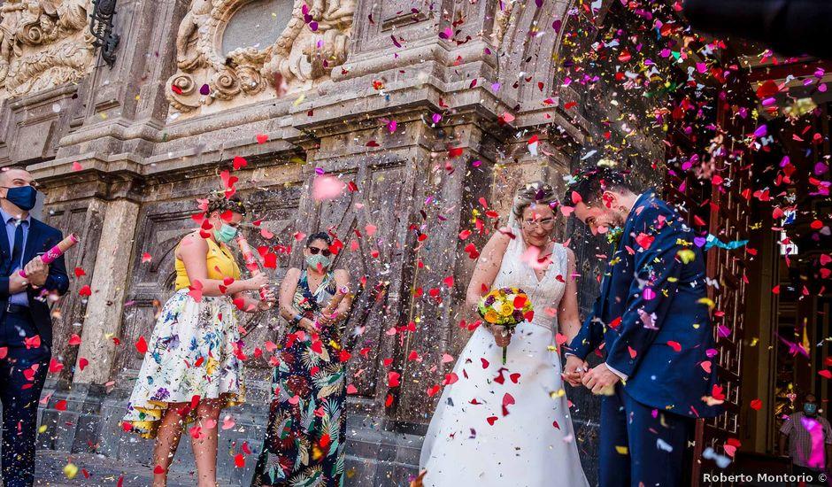 La boda de Cristian y Paula en Zaragoza, Zaragoza